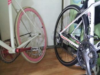 자전거 생김새 비교하기