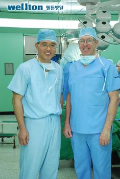 Dr. 그라함 기 박사 웰튼병원 방문 및 Exeter Master 수여식 성료