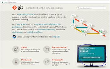 생활코딩 Git 정리 – Git 설치하기