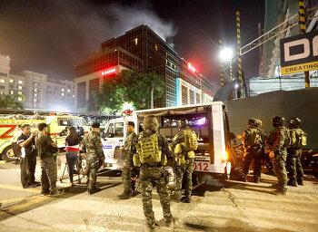 마닐라 테러 한국인 1명 사망