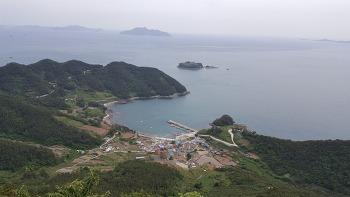 통영의 아름다운 섬 사량도 상도를 비박 종주하다.