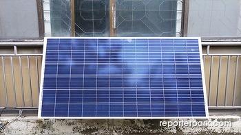 아파트 베란다 미니 태양광발전 설치해보니...(2) - 사용소감