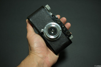 Leica Barnack IID with elmar 3.5cm f3.5