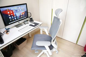 시디즈 T50 Air 에어스킨 메쉬 의자 사용해보니.. 좋은점과 아쉬운점은? - 시디즈 T50 Air 단점!