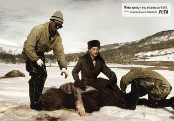 [PETA] 동물보호 공익광고, Stop Buying