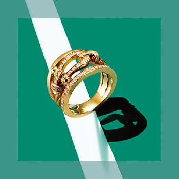 행운의 상징, 골드 컬러 패션 아이템 7