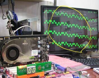 노트북 그래픽칩셋 냉납처리 리볼링, 리웍작업 설명