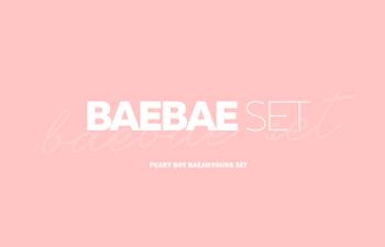 BAEBAE SET notice design