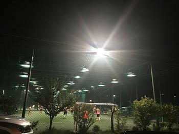 인조잔디 관리가 잘 된 경기 용두그린풋살장