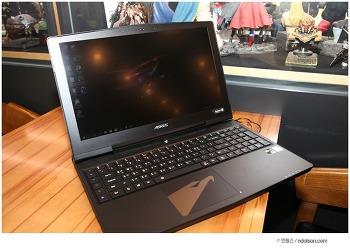 최신 어로스 게이밍노트북 Aero X5 V8, 진짜 배틀그라운드 풀옵션 가능한 GTX1070 인텔 8세대 노트북 i7-8850H 오버클러 CPU탑재, 144Hz 모니터 노트북