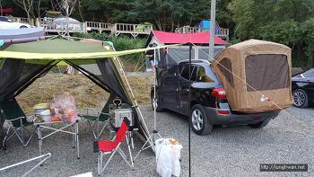 초캠의 첫 차박 캠핑