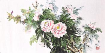 모란봉의 봄(송시엽)