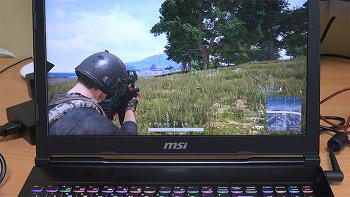 MSI GE63VR 7RF 레이더 리뷰 120Hz 놀라운 사운드 배그 게임