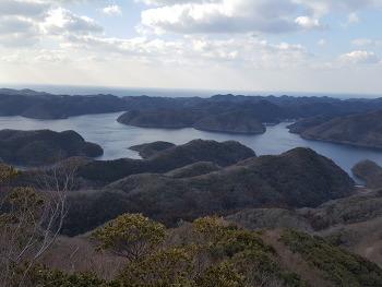 [대마도 여행]대마도의 하롱베이라 불리는 에보시타케 전망대