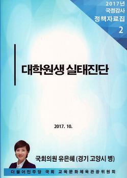 대학원생 실태진단(2017)