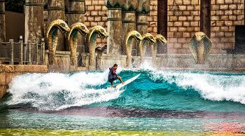 서핑하러 바다에 간다? 이젠 오션월드 서핑존에서 즐기세요!