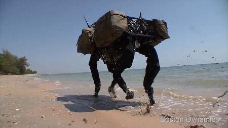 보스톤 다이내믹스 4족 로봇 발전사의 간단 정리