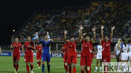 북한 20세 이하 여자 축구 월드컵 돌풍!