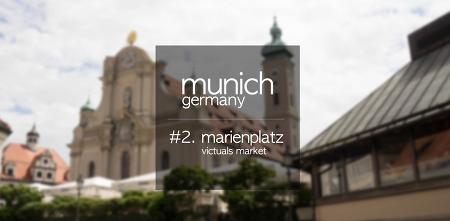 [독일-뮌헨]#2. 마리엔 광장 : 빅투알리엔 시장 (munich marienplatz : victuals market)
