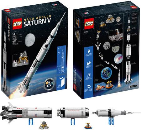 레고 21309 세턴 V 로켓