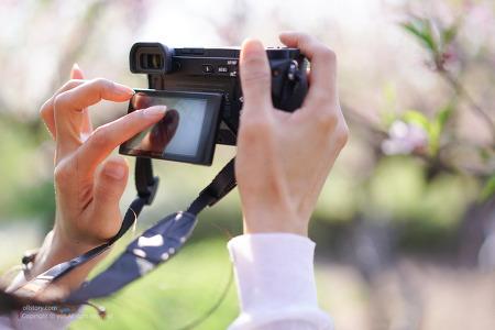앞서가는 미러리스 카메라 소니 A6500