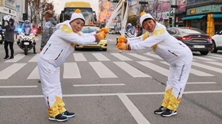 2018 평창동계올림픽 성화봉송에 함께 하다