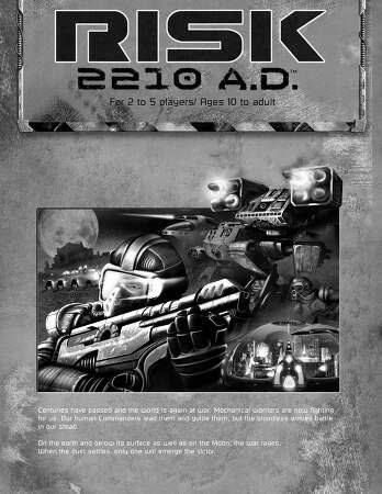 RISK 2210 AD 한글 규칙 및 요약판