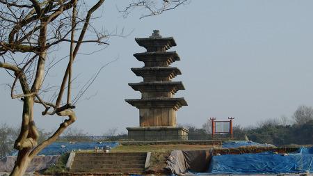 왕궁리 오층석탑 (2018봄) 전북 익산시 왕궁면 왕궁리