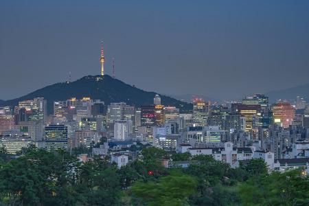 [서울야경] 인왕산 야경
