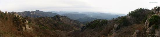 속리산 파노라마(2010.10.27)