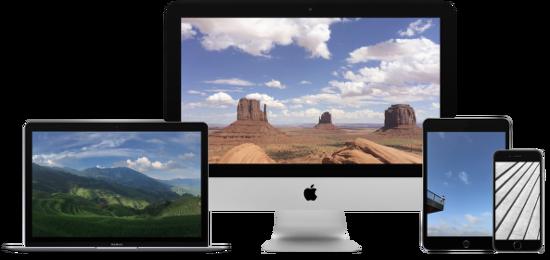 iDB 이번주 아이폰 배경화면 : 애플 데모 사진 앱 이미지