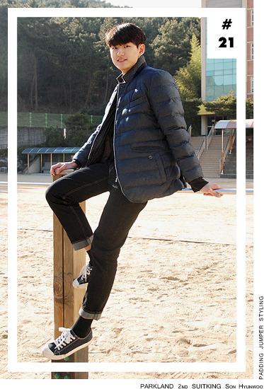 [외출 시 미세먼지 주의]수트지존 손현우 데일리룩_제이하스 패딩점퍼 스타일링