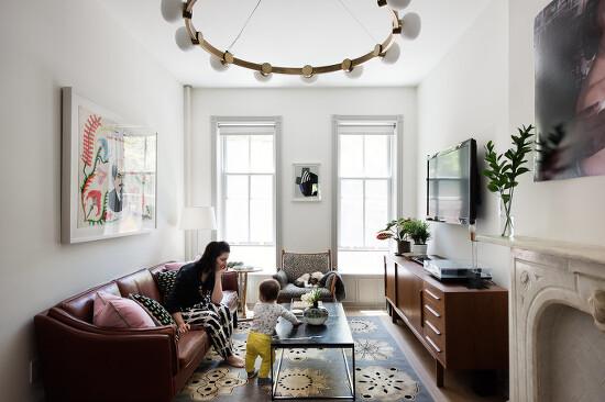 *브루클린 타운하우스- Modern Becomes Eclectic in This Renovated Brooklyn Townhouse