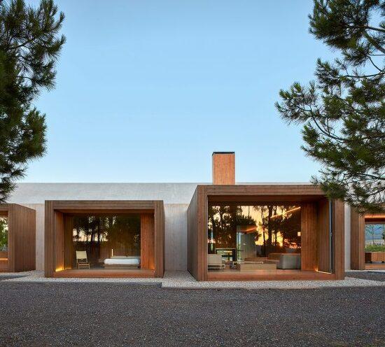 *농가와 자연 속 현대적 주택-[ Ramon Esteve Estudio ] Cottage in Fontanars dels Alforins