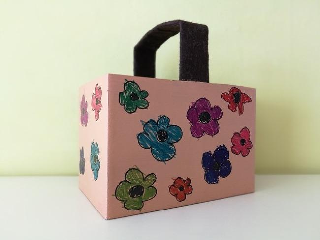 종이 상자로 바구니 만들기
