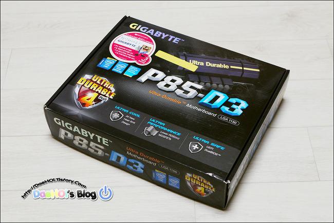 2017-1-9 / Gigabyte GA-P85-D3 메인보드 중고 구입