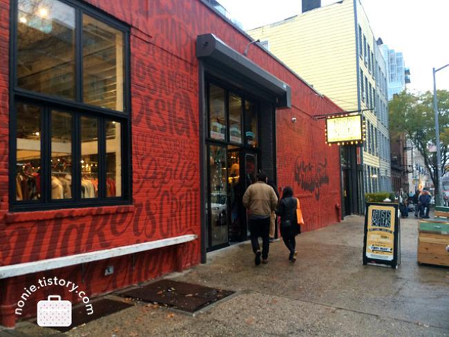 뉴욕, 취향의 여행 Day 5. 비오는 브루클린, 마켓과 중고..