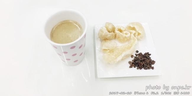 저탄수고지방(LCHF) 다이어트 간식. 라드유 돼지껍데기튀김