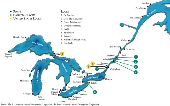 Saint Lawrence Seaway (Highway H2O)
