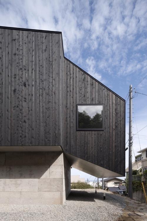 *일본 해얀가 공중 주택-[ CUBO design architect ] Hafye