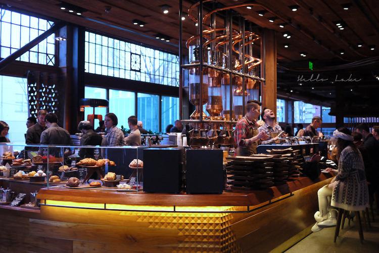씨애틀 하루나들이 : Starbucks reserve roastery & tasting room
