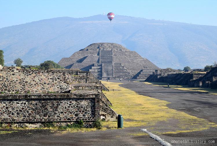[멕시코여행] 테오티우아칸 해와 달의 피라미드