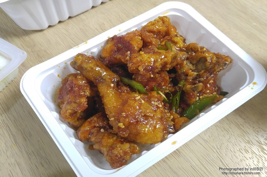 식어도 바삭한 닭강정 서울에서도 먹을 수 있다? 신천 새마을 시장 김판조 닭강정