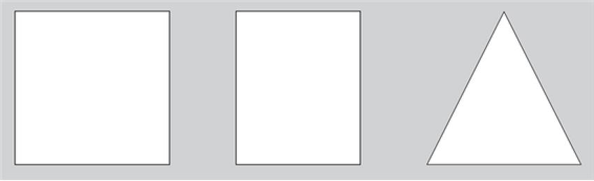 각 면의 모양이 다른 물체 2