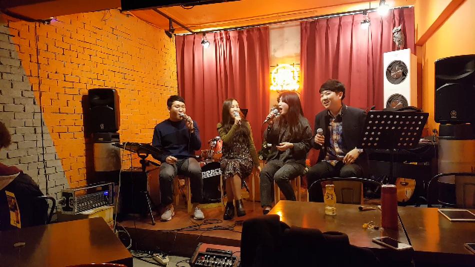 4인조 혼성 아카펠라그룹 웨일즈가든 동영상