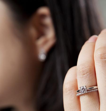 프로포즈반지플라워다이아몬드