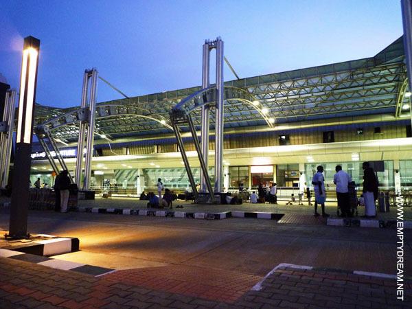 India, Tiruchirappalli, Tiruchirapalli Airport (Trichy Airport), 2009