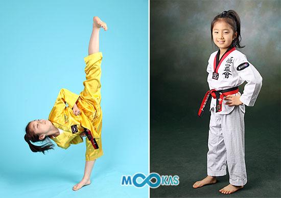 품새 신동 김유하(12, 효자초)양