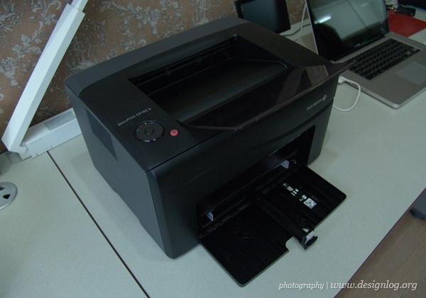 후지제록스 DocuPrint CP150b, 콤팩트한 사이즈와 세련된 디자인