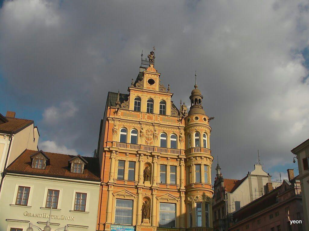 [체코]부데요비츠카 광장에 서다.